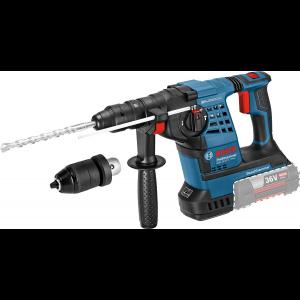 Bosch borhammer GBH 36 VF-LI SDS-Plus Solo I L-BOXX med dybdeanlegg