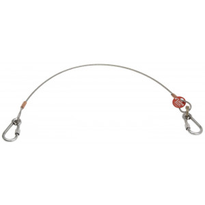 LUNA Wire med øye og karabinkrok verktøy.no