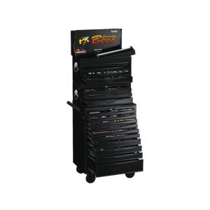 Teng Tools verktøyvogn med 1001 Deler TCMM1001BK verktøy.no