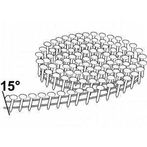 Rundbåndet pappspiker 15° 3,0x38mm Fzv 1080stk verktøy.no