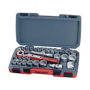 Pipenøkkelsett med ½ feste Teng Tools T1230 verktøy.no