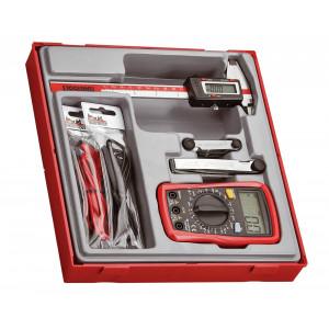 Teng Tools målersett 4 deler TTDCM verktøy.no