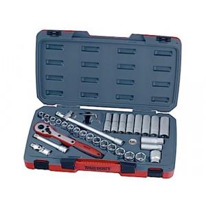 """Pipenøkkelsett med ½"""" feste Teng Tools M1234 verktøy.no"""