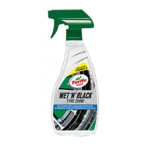 Turtle wax WET 'N' BLACK TYRE SHINE 500 ml Verktøy.no