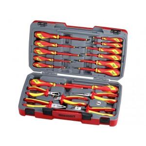 Teng Tools tang- og skrutrekkersett for 1000 volt TV18N verktøy.no