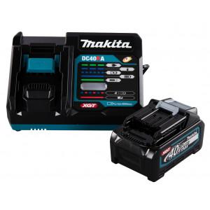 Makita 40V Batterisett XGT ® 1 stk 40V 4,0Ah batteri & lader Verktøy.no