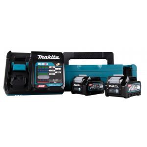 Makita 40V Batterisett XGT ® 2 stk 40V 2,5Ah batteri & lader i Makpac koffert  Verktøy.no