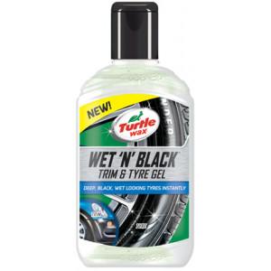 Turtle wax WET 'N' BLACK TRIM & TYRE GEL 300 ml Verktøy.no