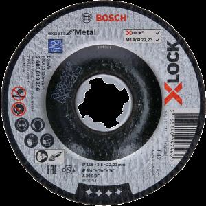 Bosch X-LOCK Expert for Metal-kappeskiver med senket senter Verktøy.no