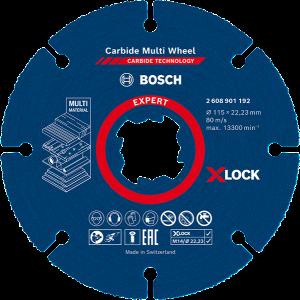 Bosch EXPERT Carbide Multi Wheel X-LOCK-kappeskive 115 mm Verktøy.no