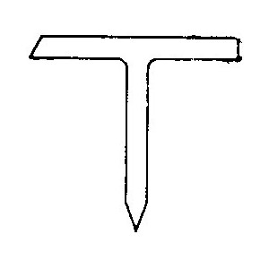Stift av plast T-9 Rapid verktøy.no