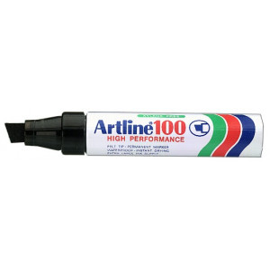 Merketusj Artline 100 rød verktøy.no