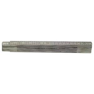 Meterstokk i aluminium A59-2-10mm Hultafors verktøy.no