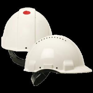3M™ G3000 vernehjelm i hvit verktøy.no
