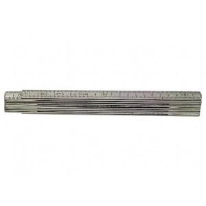 Meterstokk aluminium A61-2 10mm Hultafors verktøy.no