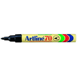 Merketusj Artline 70 rød SB1 verktøy.no