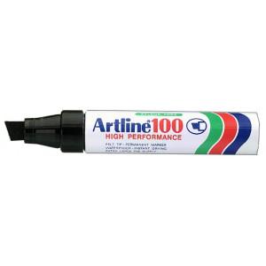 Merketusj Artline 100 sort SB1 verktøy.no