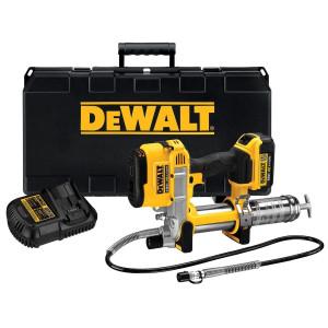 DeWalt 18V XR fettsprøyte i koffert med 1 x 18V 4Ah batteri & lader verktøy.no