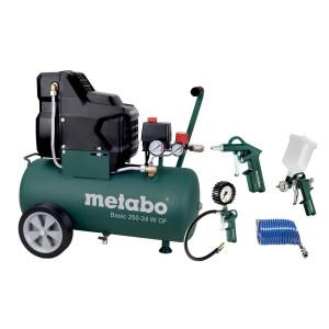 Metabo kompressor sett pk Basic 250-24 W OF verktøy.no
