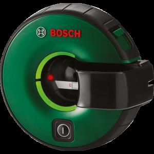 Bosch ATINO Linjelaser med integrert målebånd. Finn riktig høyde og fest bilder, hyller, speil, håndtak eller kroker, eller til og med en TV