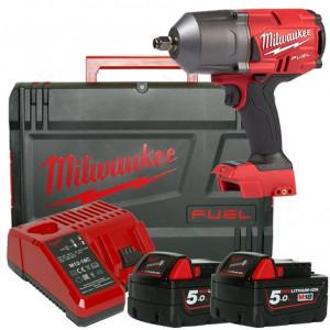 Milwaukee 18V muttertrekker ½˝ M18 FHIWF12-502X verktøy.no