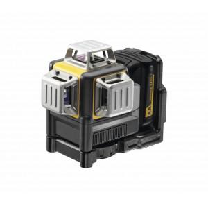 DeWalt 10,8V Krysslaser Selnivellerende 3 x 360º Rød DCE089LR med 4 AA batterier