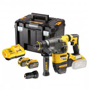 DeWalt FlexVolt borhammer SDS-PLUS 54V XR børsteløs med 3 valg og chuck 54V 2x9,0Ah verktøy.no