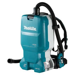 Makita støvsuger 2X18V ryggsekk DVC665ZU uten batteri & lader verktøy.no