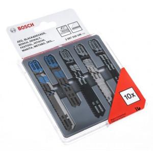 Bosch stikkblad sett tre/metall 10x verktøy.no