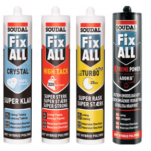 Soudal Fix All - MS Polymer fugelim verktøy.no