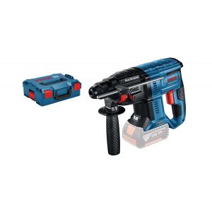 Bosch 18V borhammer SDS-PLUS GBH 18V-21 i L-BOXX med dybdestopp uten batteri & lader verktøy.no