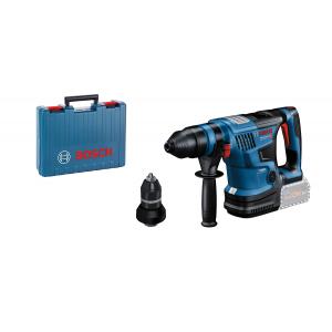 Bosch 18V borhammer GBH 18V-34 CF i koffert med dybdeanlegg - Uten batteri & lader verktøy.no