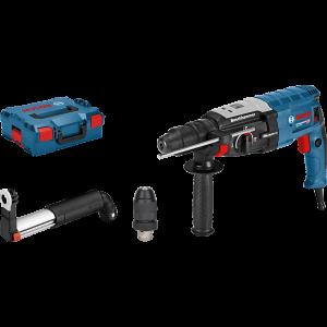 Bosch Borhammer GBH 2-28 SDS plus i L-BOXX med avsugssett