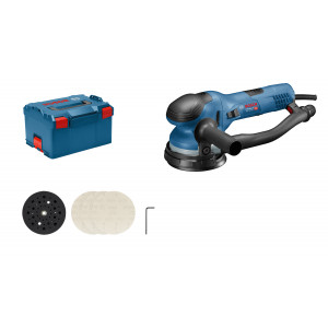 Bosch eksentersliper GET 55-125 i L-BOXX med unbrakonøkkel verktøy.no