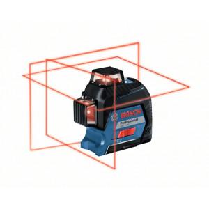 Bosch Linjelaser GLL 3-80 i koffert med 4 batterier (AA) verktøy.no