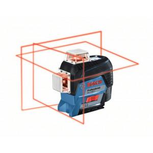 BOSCH Linjelaser GLL 3-80 C med L-BOXX