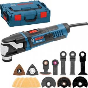 Bosch Multikutter GOP 55-36 Professional i L-BOXX med sagbladsett & slipearksett verktøy.no