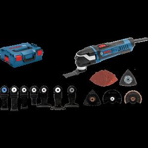 Bosch Multi-Cutter GOP 40-30 StarlockPluss Professional i L-BOXX med sagbladsett & slipearker verktøy.no