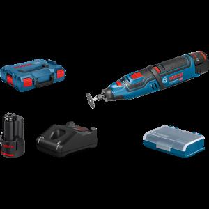 Bosch 12V multi-rotasjonsverktøy GRO 12V-35 - Kraftig og allsidig for profesjonelt bruk verktøy.no