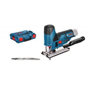 Bosch stikksag GST 12 V-70 Solo i L-BOXX med 2 stikksagblader verktøy.no