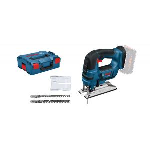 Bosch stikksag GST 18 V-LI B Solo i L-BOXX med 3 stikksagblader verktøy.no