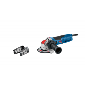 Bosch Vinkesliper X-LOCK GWX 19-125 S med Støvbeskyttelsesfilter