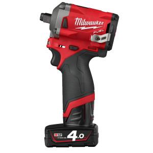 Milwaukee 12V muttertrekker ½″ med friksjonsring M12 FIWF12-422X verktøy.no