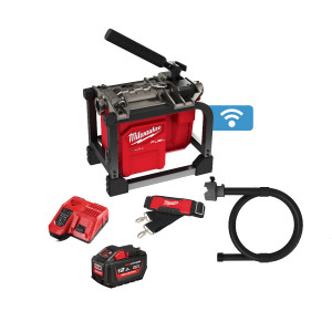 Milwaukee 18V FUEL™ Kompakt Seksjonavløpsmaskin FCSSM Med 1 x 18V 12Ah Batteri (High output) med lader Verktøy.no