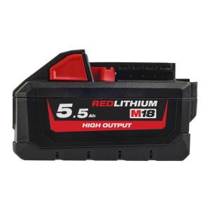 Milwaukee 18V High Output batteri 5,5Ah