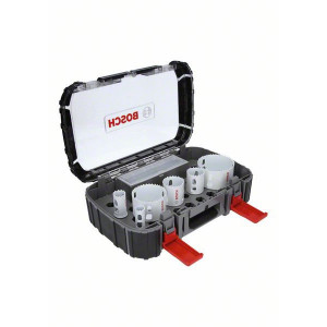 Bosch Elektrikersett med 9 deler Progressor for Wood&Metal (19mm til 83mm) verktøy.no