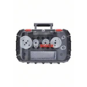Bosch Elektrikersett med 9 deler Progressor for Wood&Metal (22mm til 65mm) verktøy.no