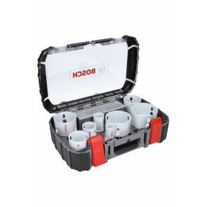 Bosch Elektrikersett med 9 deler Progressor for Wood&Metal (20mm til 64mm) verktøy.no