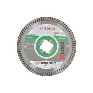 Bosch X-LOCK Best for Ceramic Extra Clean Turbo-diamantkappeskiver verktøy.no