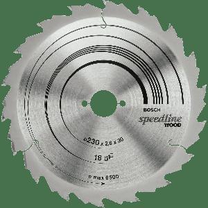 BOSCH Speedline Wood sirkelsagblader